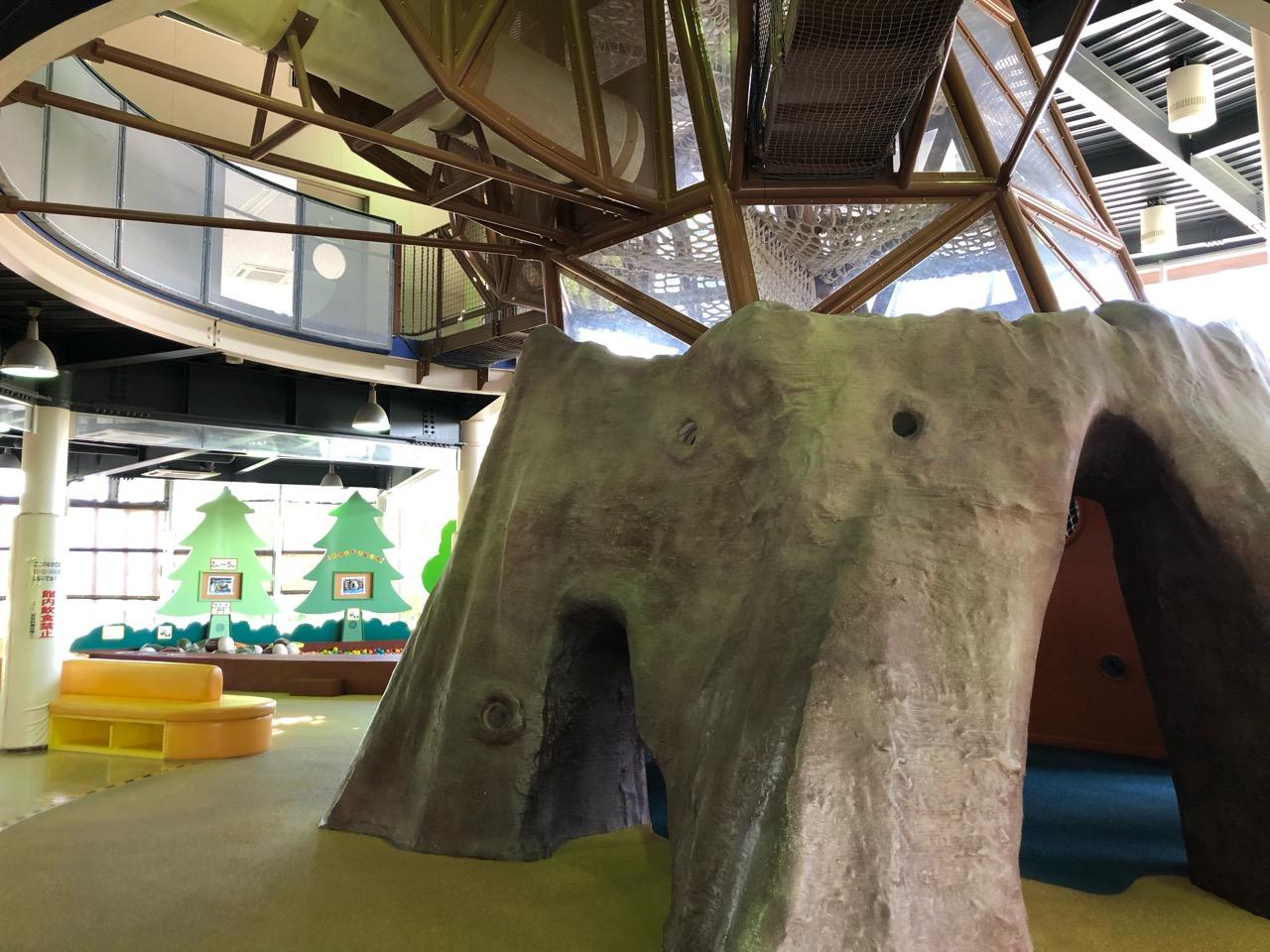 鞍ヶ池公園の室内遊具