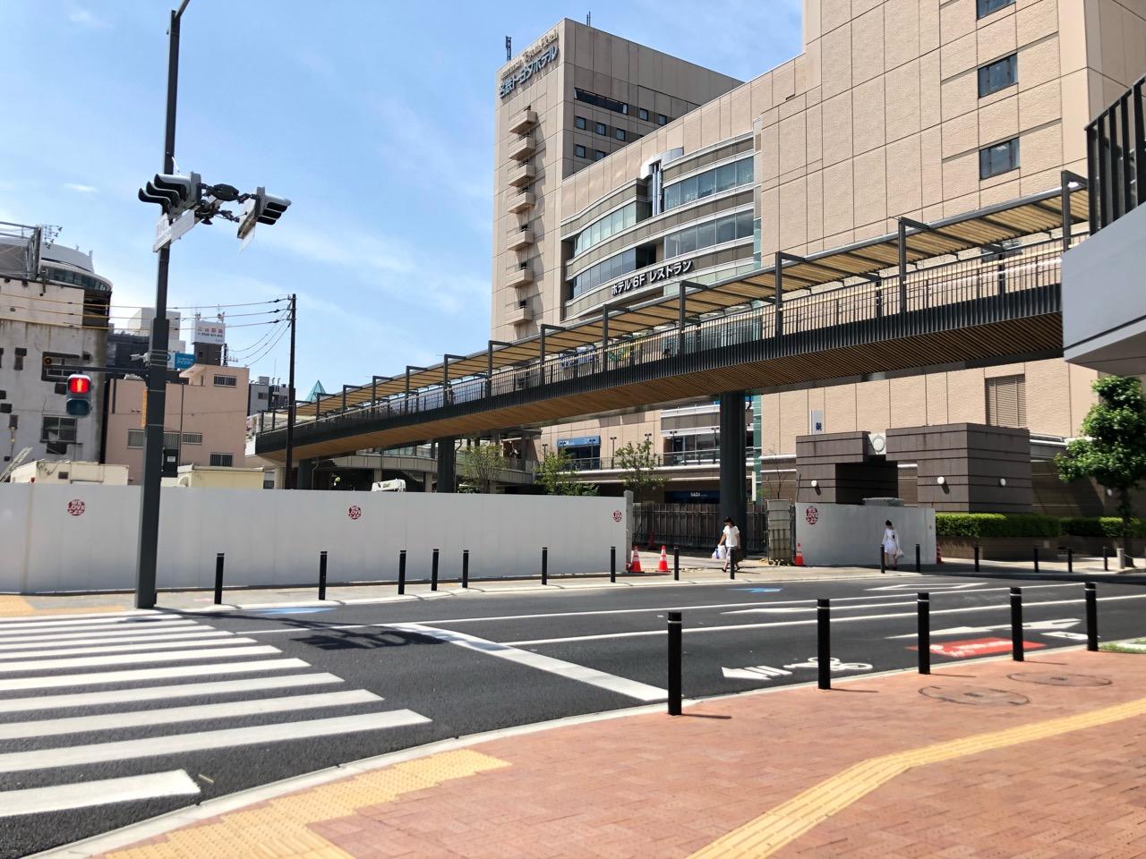 進められる豊田市駅前の再整備