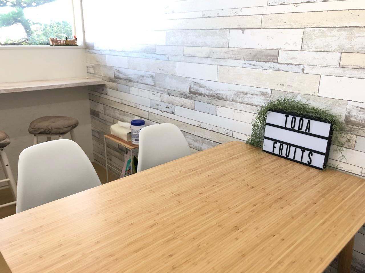 戸田フルーツのジューススタンド