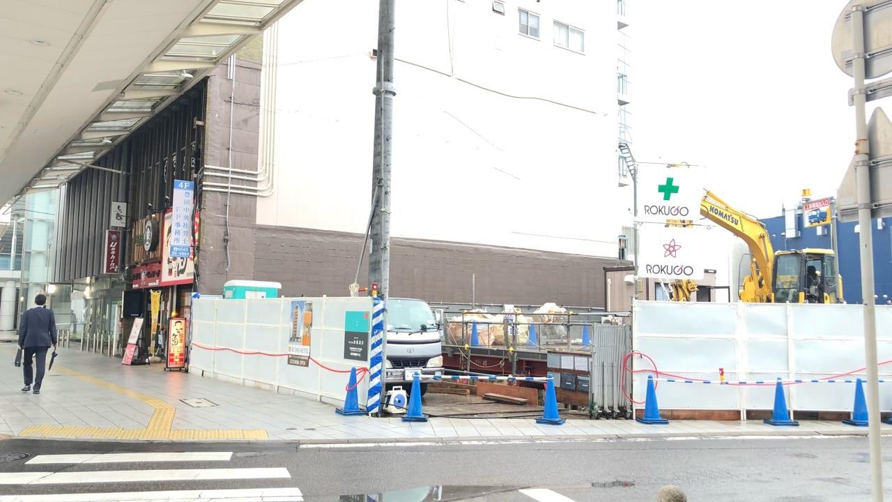 豊田市駅すぐホテル建設予定地